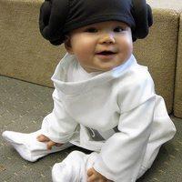Leia Organa, amikor még nem ismerte az igazi papáját