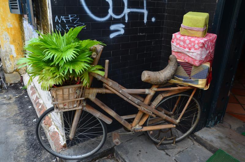 bambusz bicikli