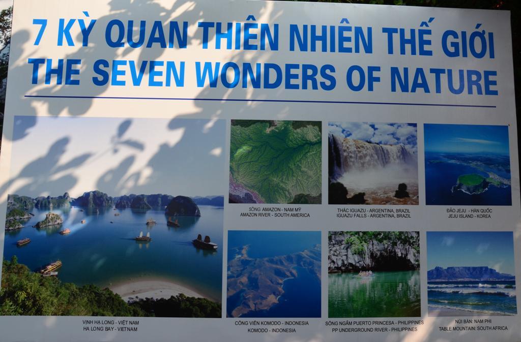 A termeszet 7 csodaja kozul, jelentem, 2 -ot lattam:)<br />A harmadik, Jeju sziget tervben.