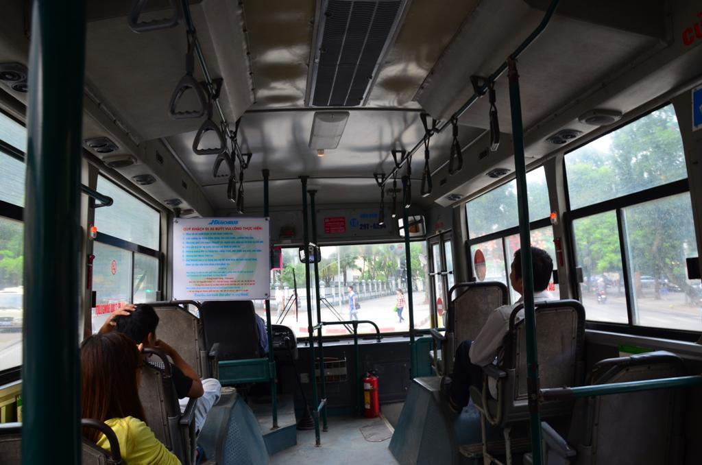 helyi busszal utaztunk