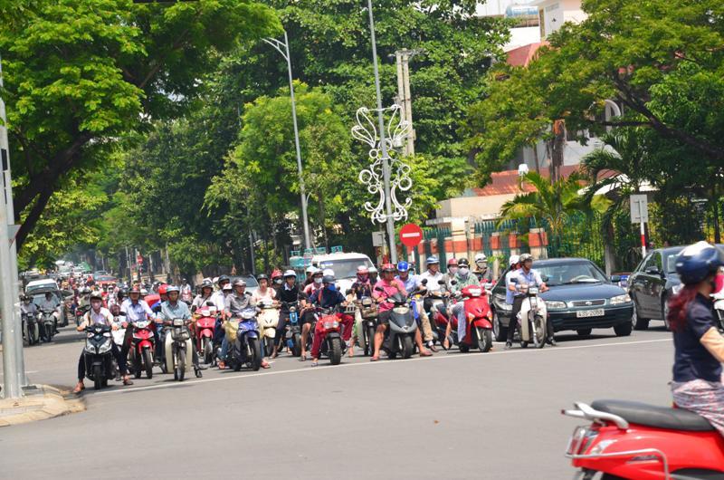 Itt is volt motoros forgalom rendesen.