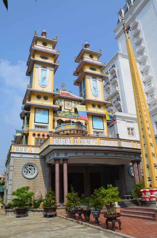 Thua Thien Hue Caodaism Temple (2007-2012 kozott epult)