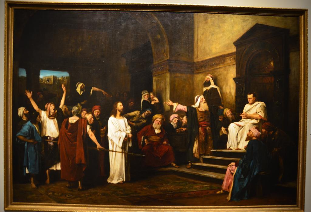 Jezus Pilatus elott (1881)