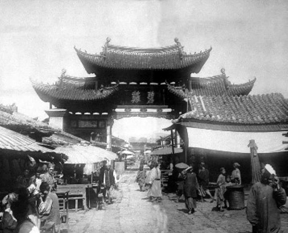 A Binji kapu 1900-ban