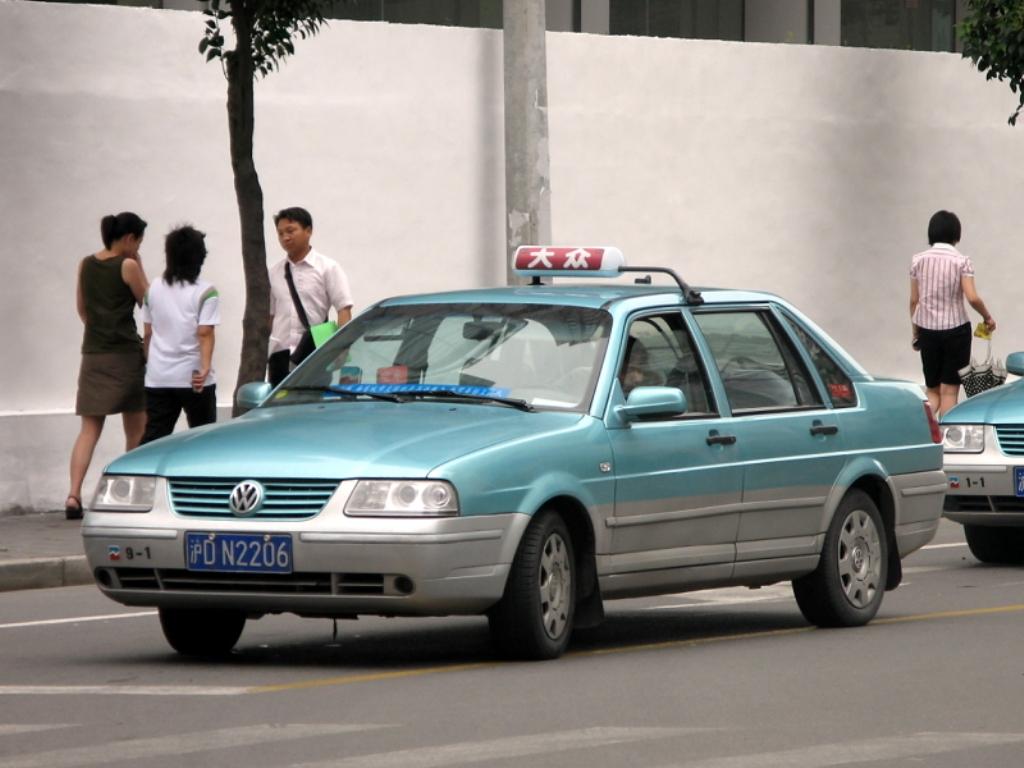 A Dazhong taxi