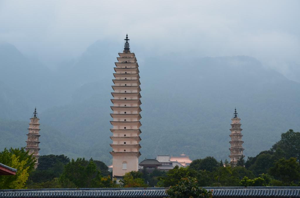 a harom pagoda