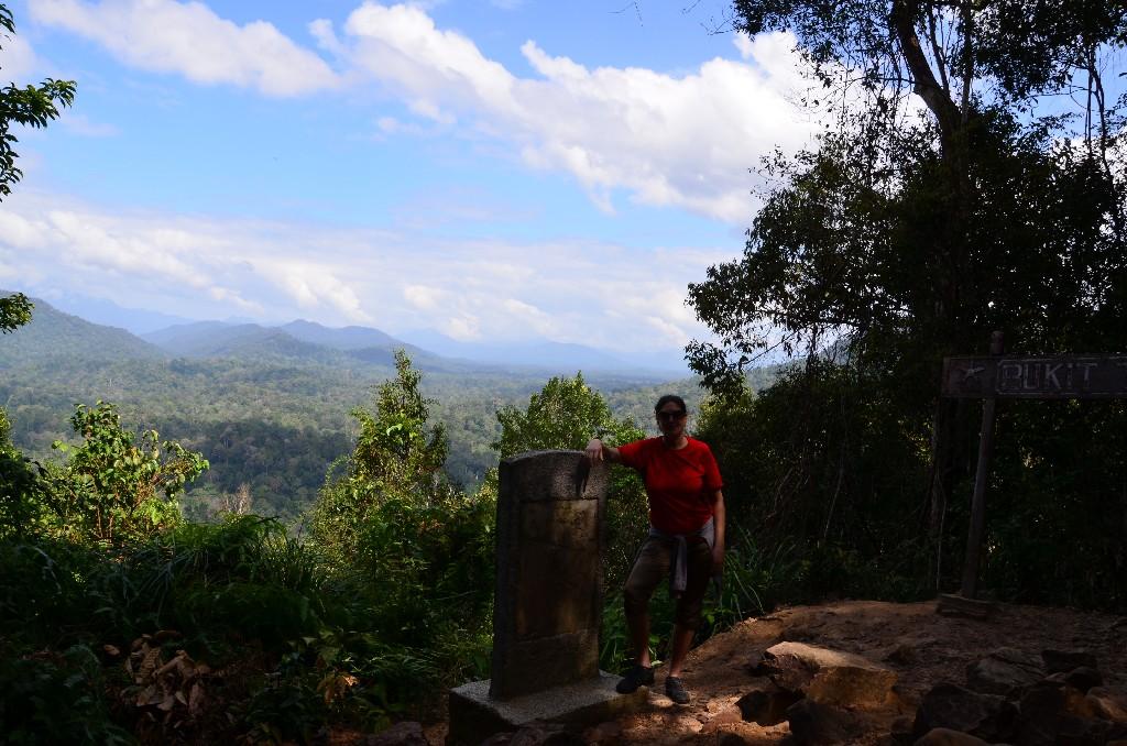 A Teresik dombról nagyon szép kilátást nyílt a környező vidékre