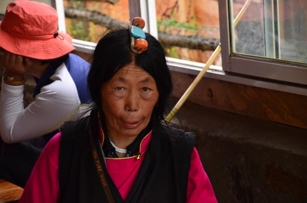 a szep tibeti neni :)