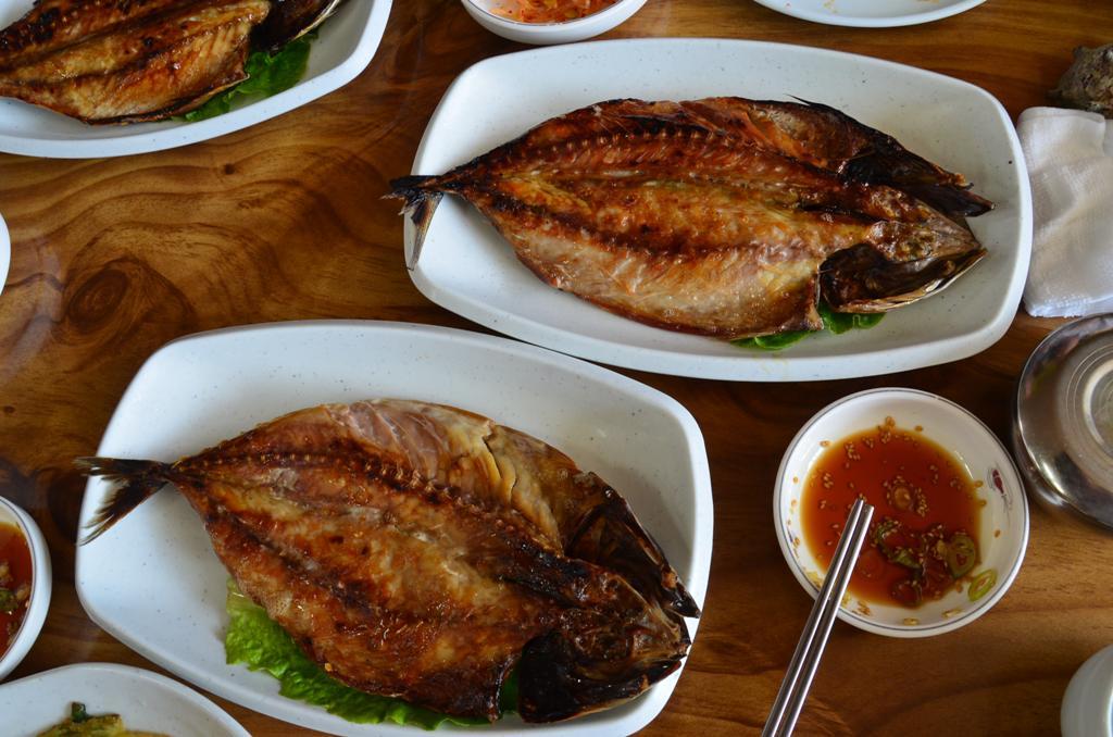 grillezett makrela