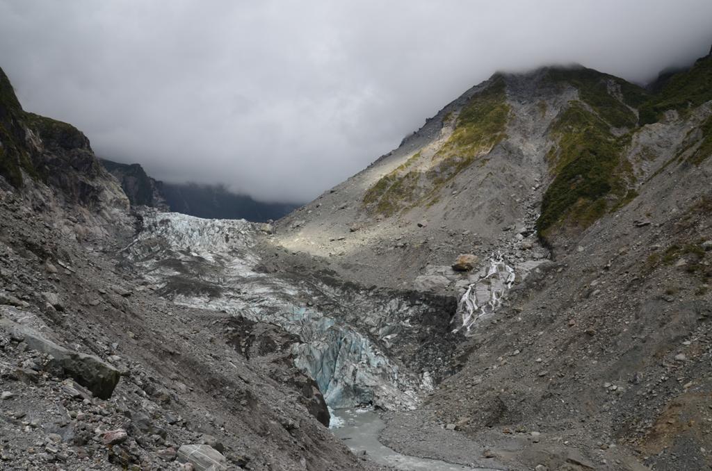 mar latszik a gleccser