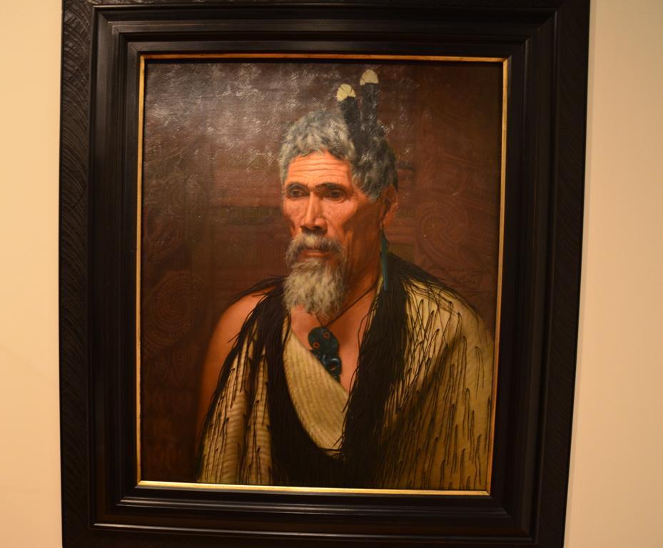 Charles F. Goldie: Anaha Te Rahui, hires fafarago