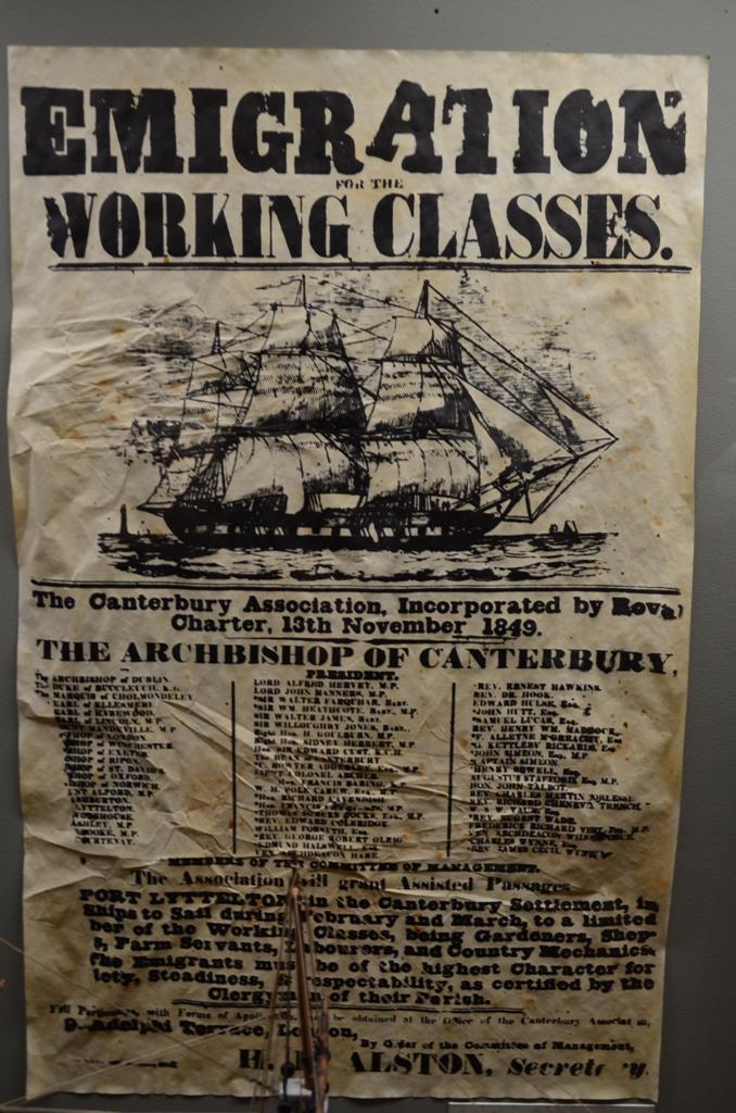 Korabeli, munkaerot verbuvalo plakat