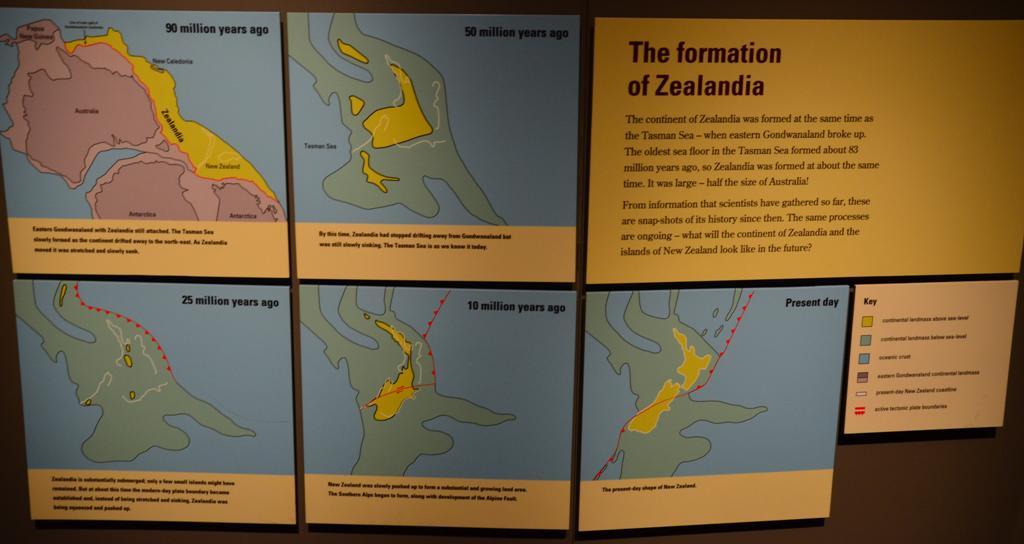 Uj Zeland levalasa 90 millio evvel ezelott kezdodott.