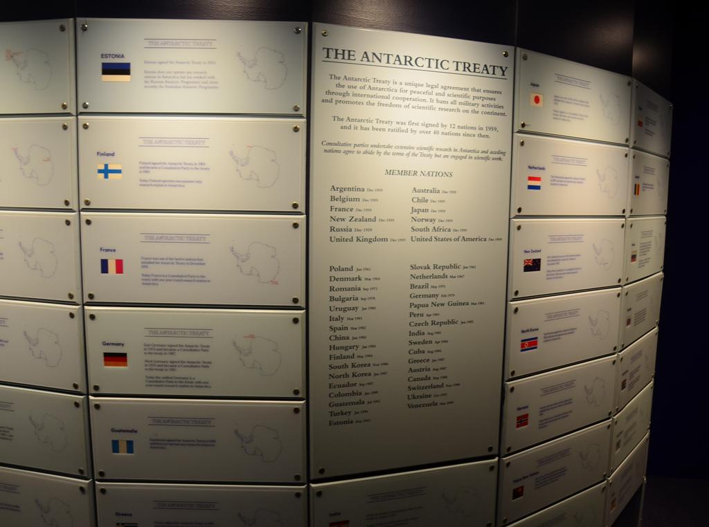 Orszagok listaja akik az Antarktisz Szerzodest alairtak
