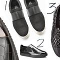 Ropogós fekete cipőkavalkád