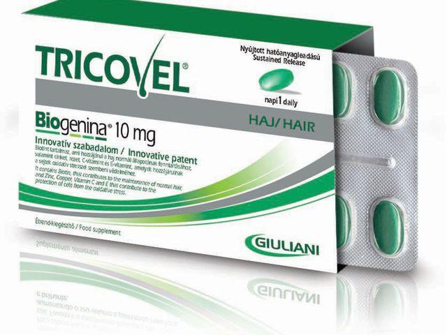 Teszt: Tricovel hajszépség vitamin