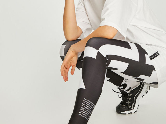 Fekete + fehér + tipó >> divat
