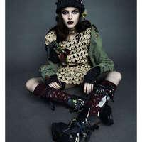 Városi gót - Bowery Girl editorial