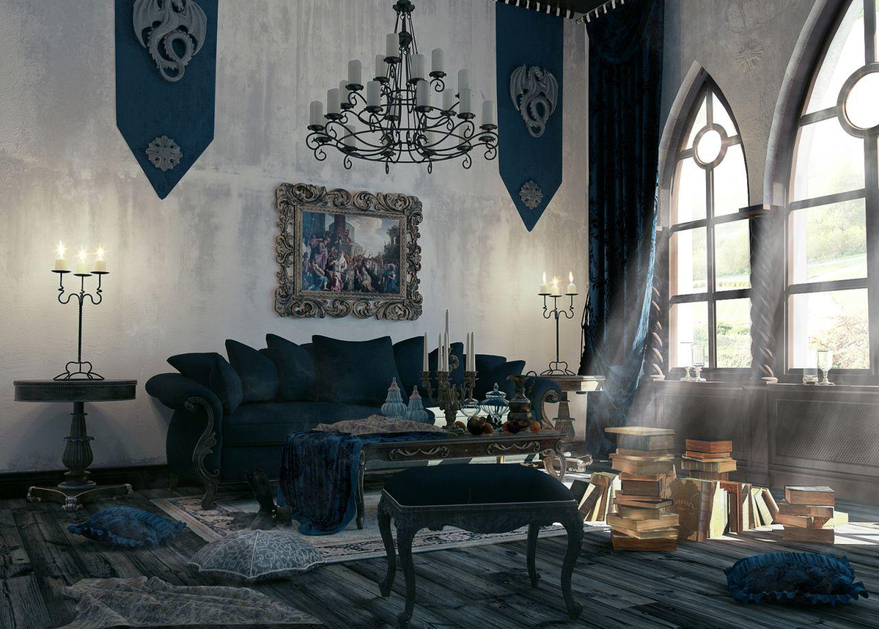 Tippek a gótikus otthon megalkotásához