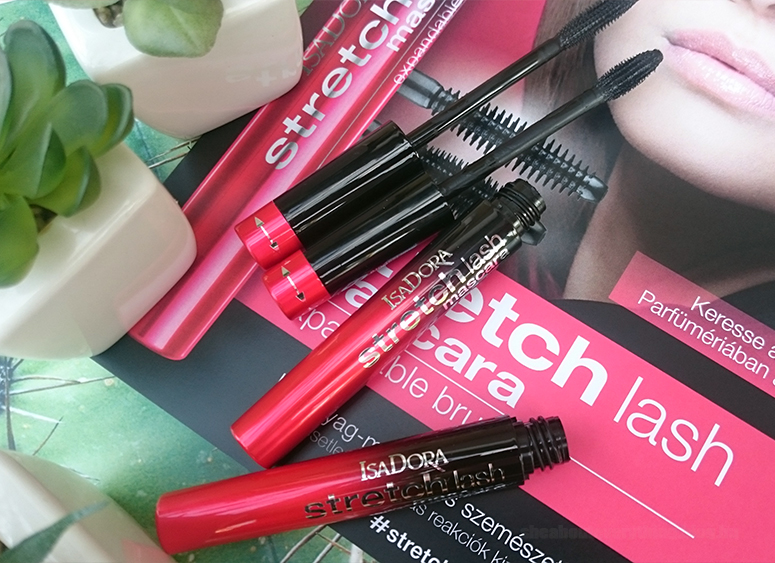IsaDora Stretch Lash Mascara - 2-in-1 spirál állítható kefével