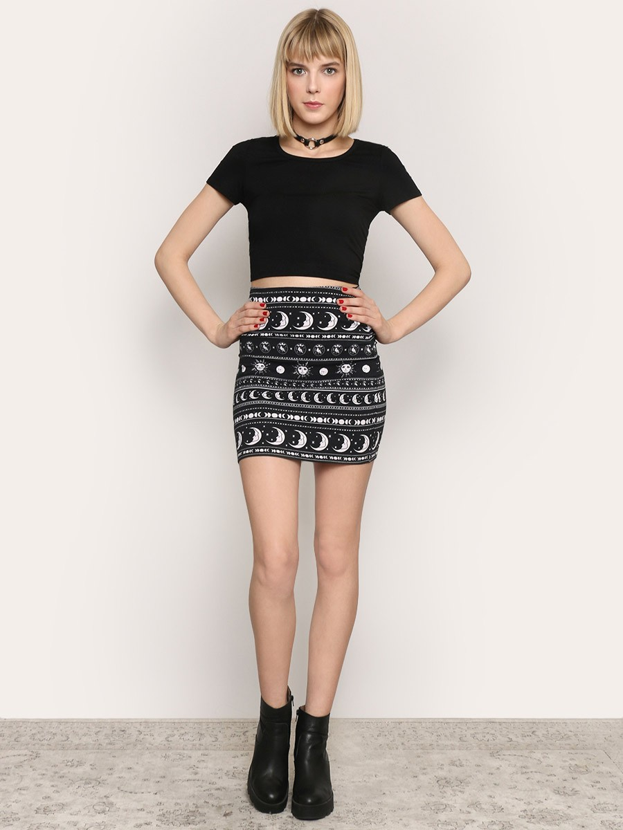 BRIXTON KIMMY MINI SKIRT