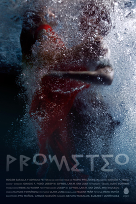 PROMETEO Directed by Ignacio F. Rodó (Spain) 6 minutes, no talking. A couple meets at a pool at night. The boy has a proposal and feels like playing. However, the girl has her own plans and will not accept easily. Prometheus was the first pio pio short film. It's a very intense love story that places us most of the time inside a pool. We chose to make it without dialogues to make it more international. An adaptation and underwater reinterpretation of the old greek legend. http://piopiostories.com/en/prometheus https://www.facebook.com/piopiostories
