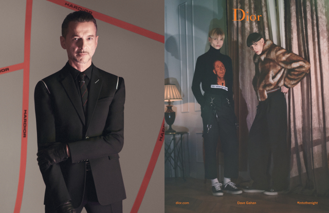 Dave Gahan a Dior új kampányfilmjében