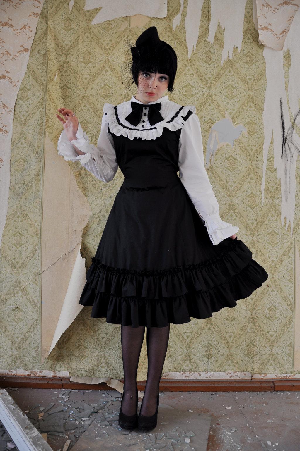 Gothic Lolita - forrás: kechake-stock.deviantart.com