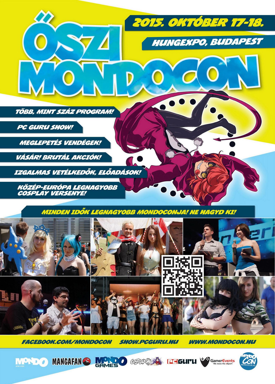 Hétvégén indul az Őszi MondoCon!