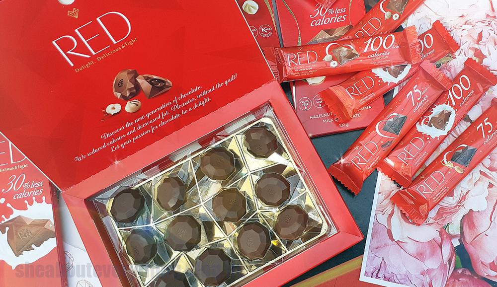 RED csokoládék - cukor- és gluténmentes prémiumfinomságok vörösben