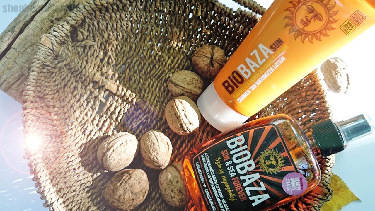 Biobaza Sun: parabénmentes, tartósítószer nélküli nyári termékek