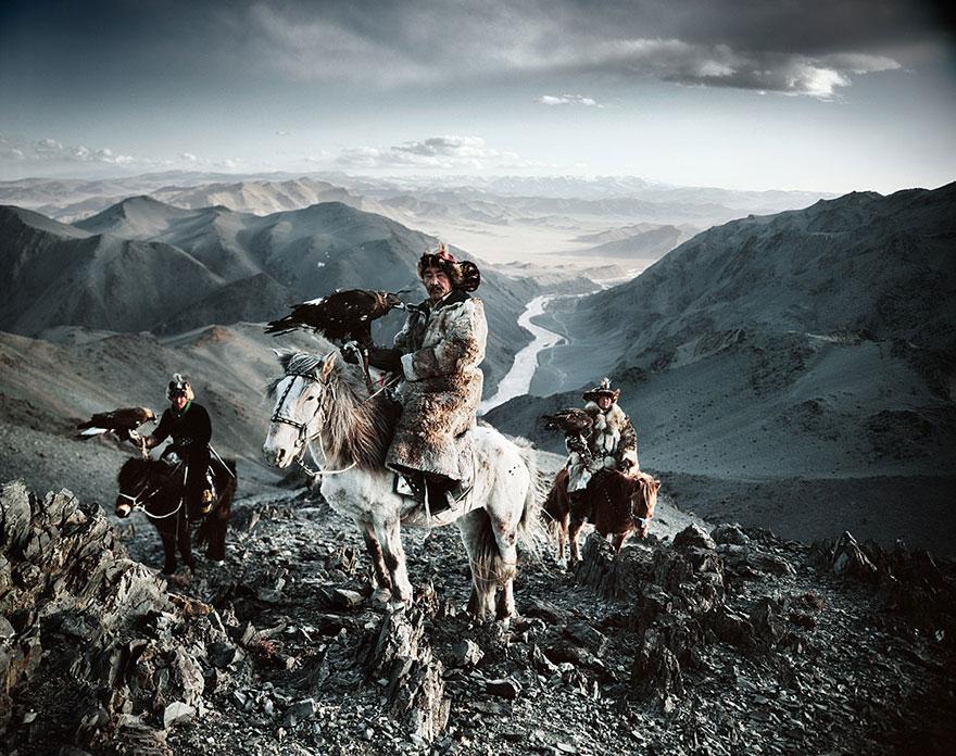Kazakh, Mongólia