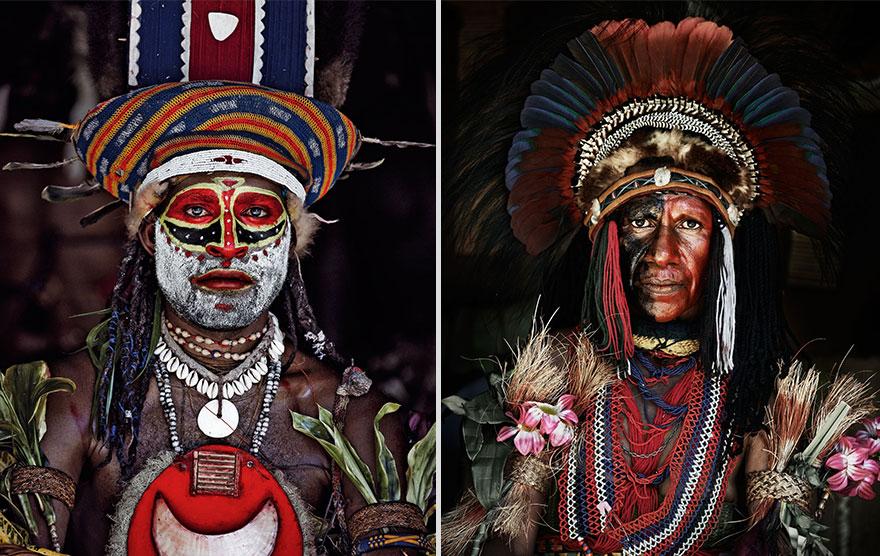 Kalam, Indonézia, Pápua Új-Guinea