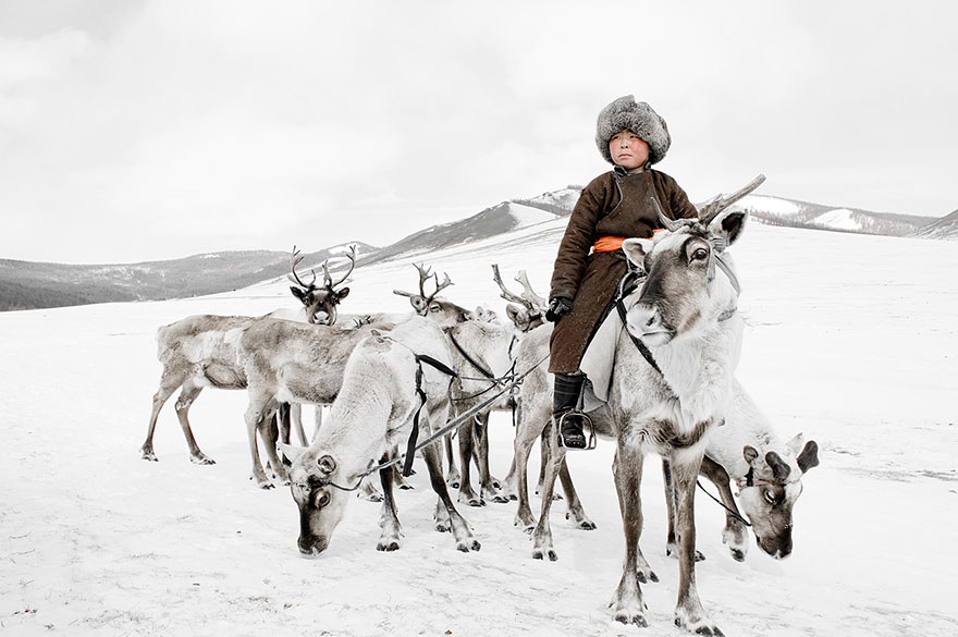 Tsaatan, Mongólia