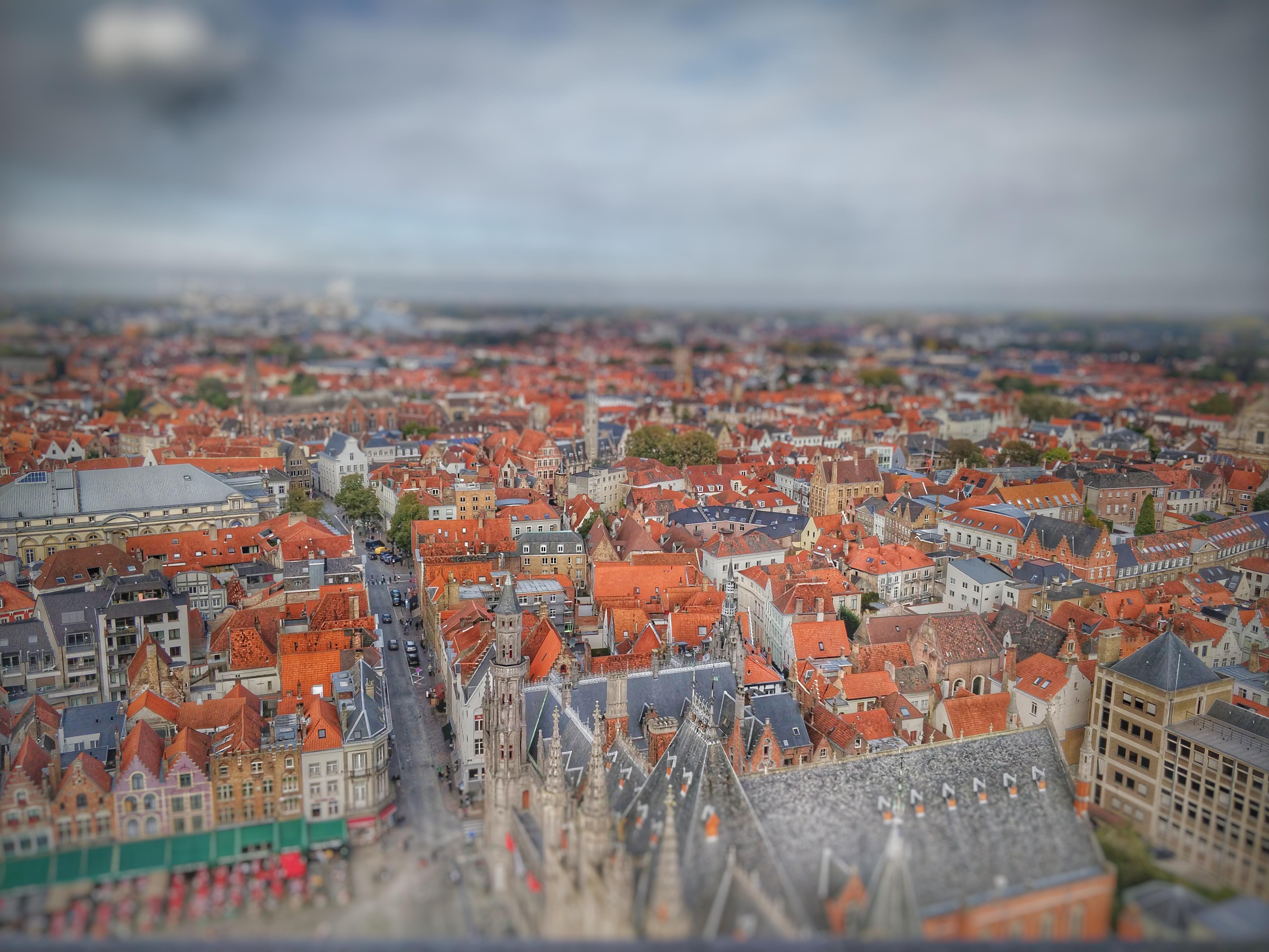 És a kilátás a városra! Csodás!