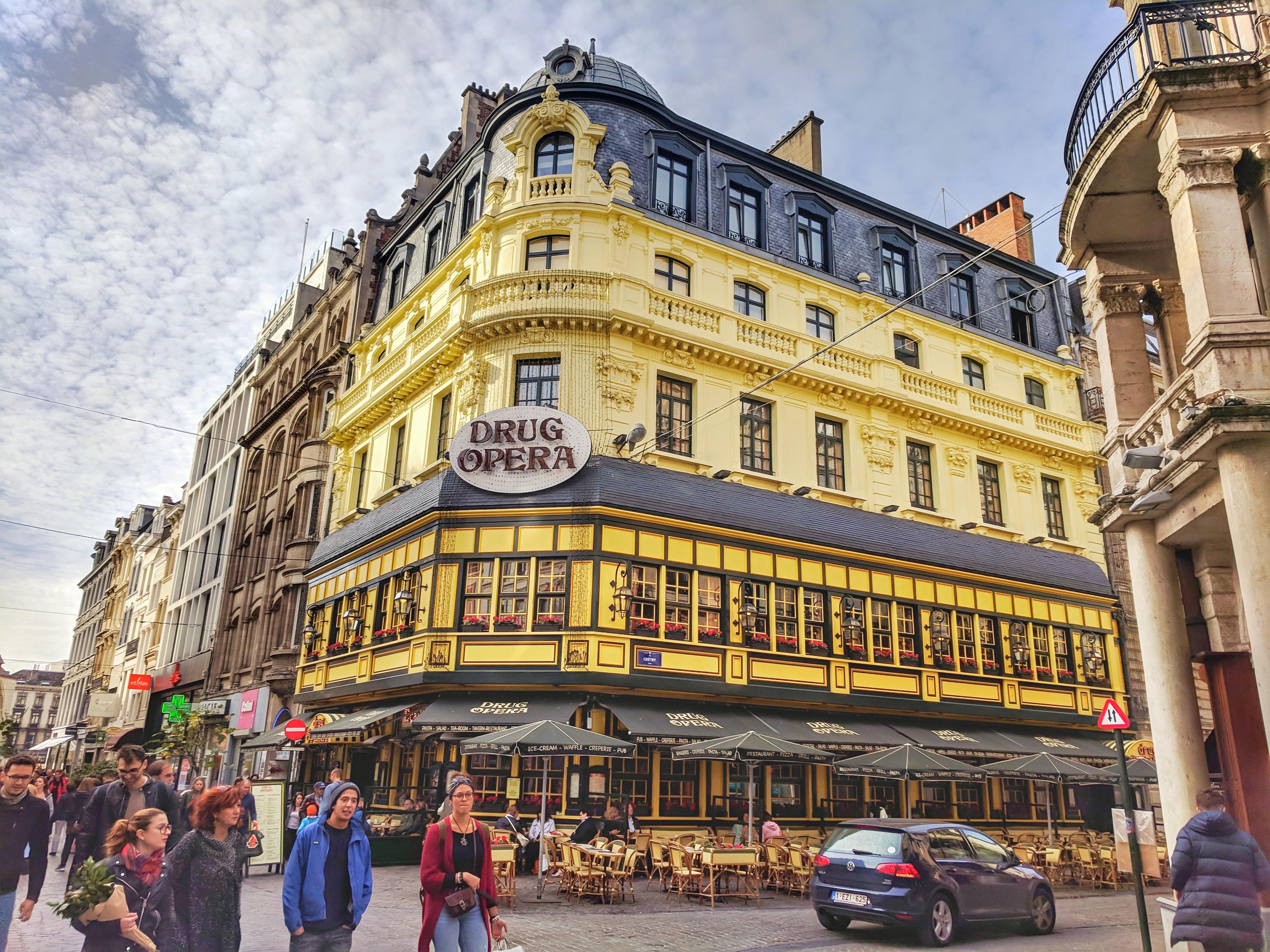 Brüsszel egyik különleges belvárosi étterme