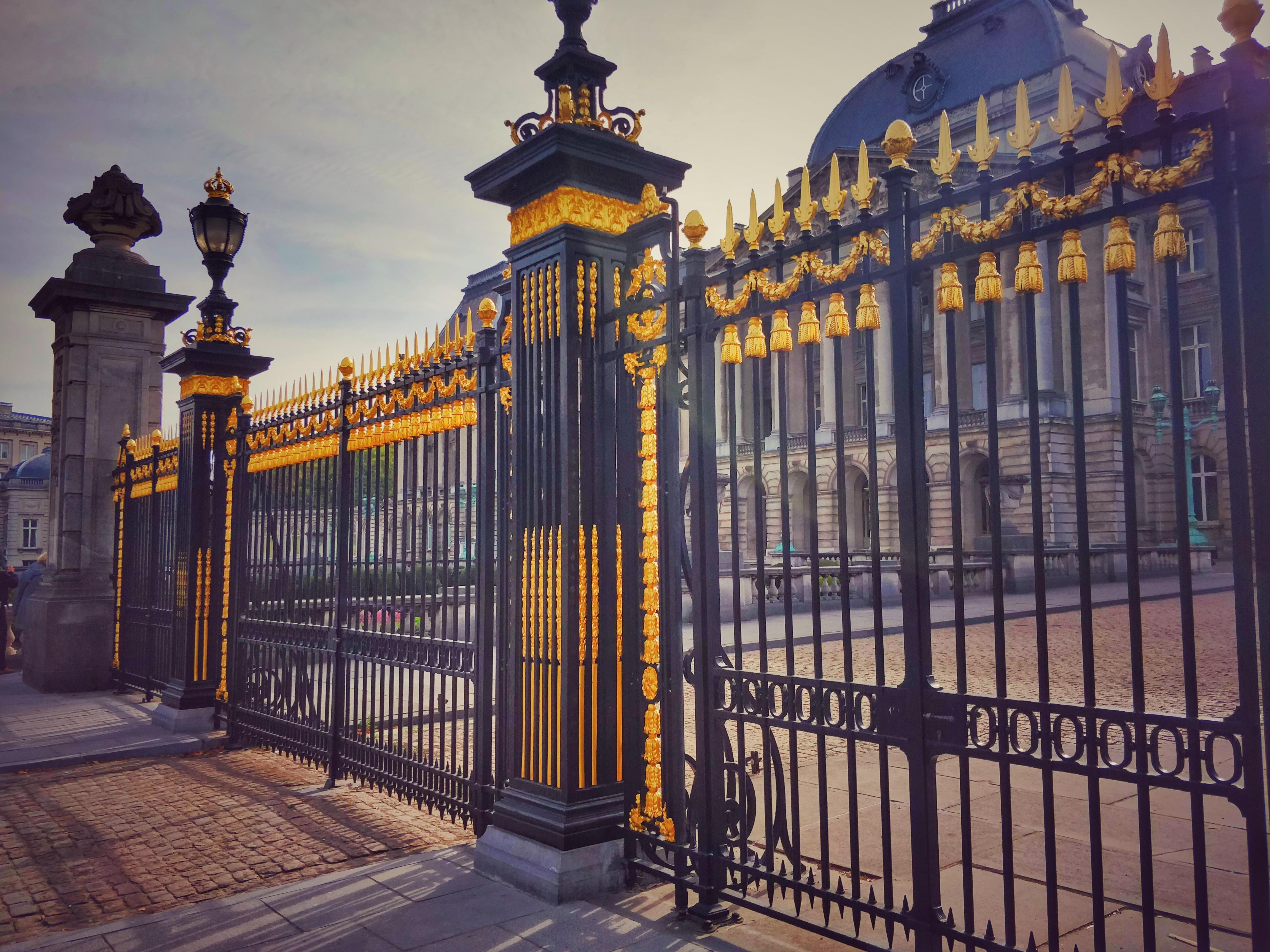 A királyi palota 'aranyozott' kapuja