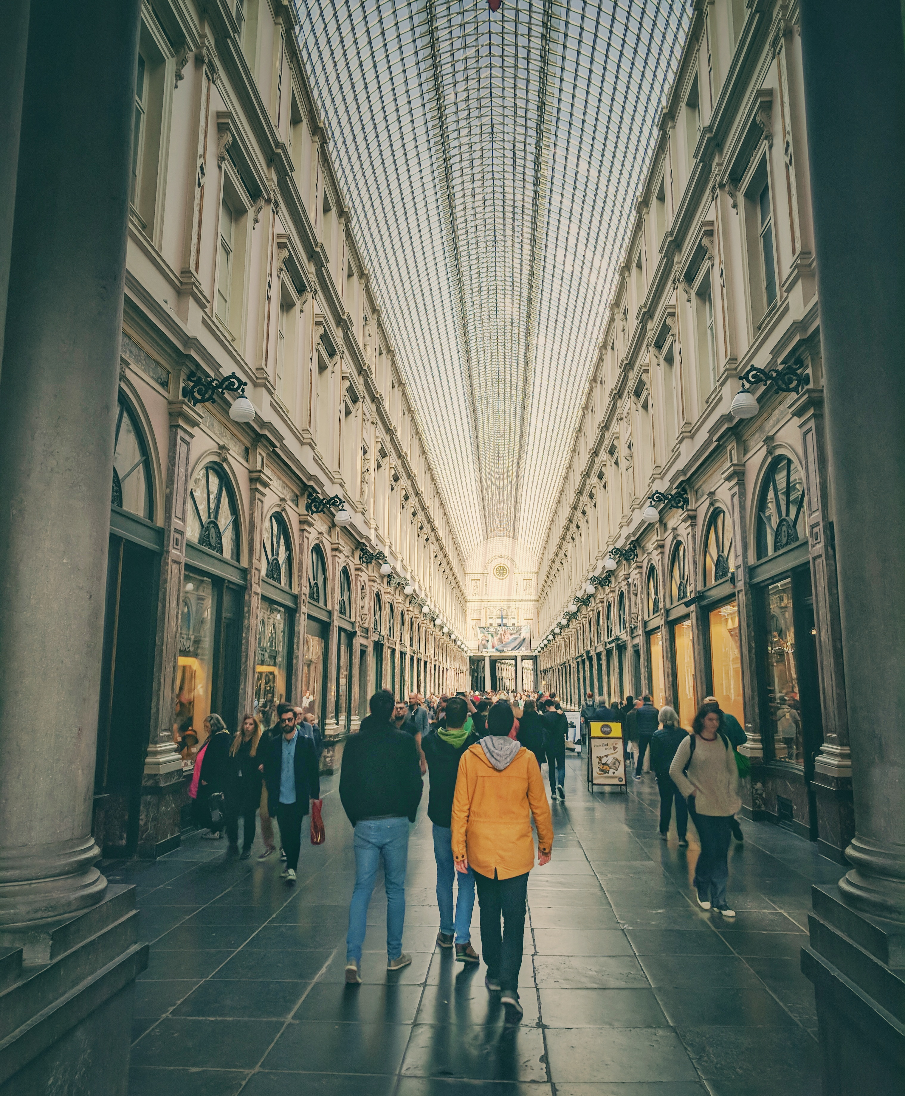 Galeries Royales Saint-Hubert passzázs