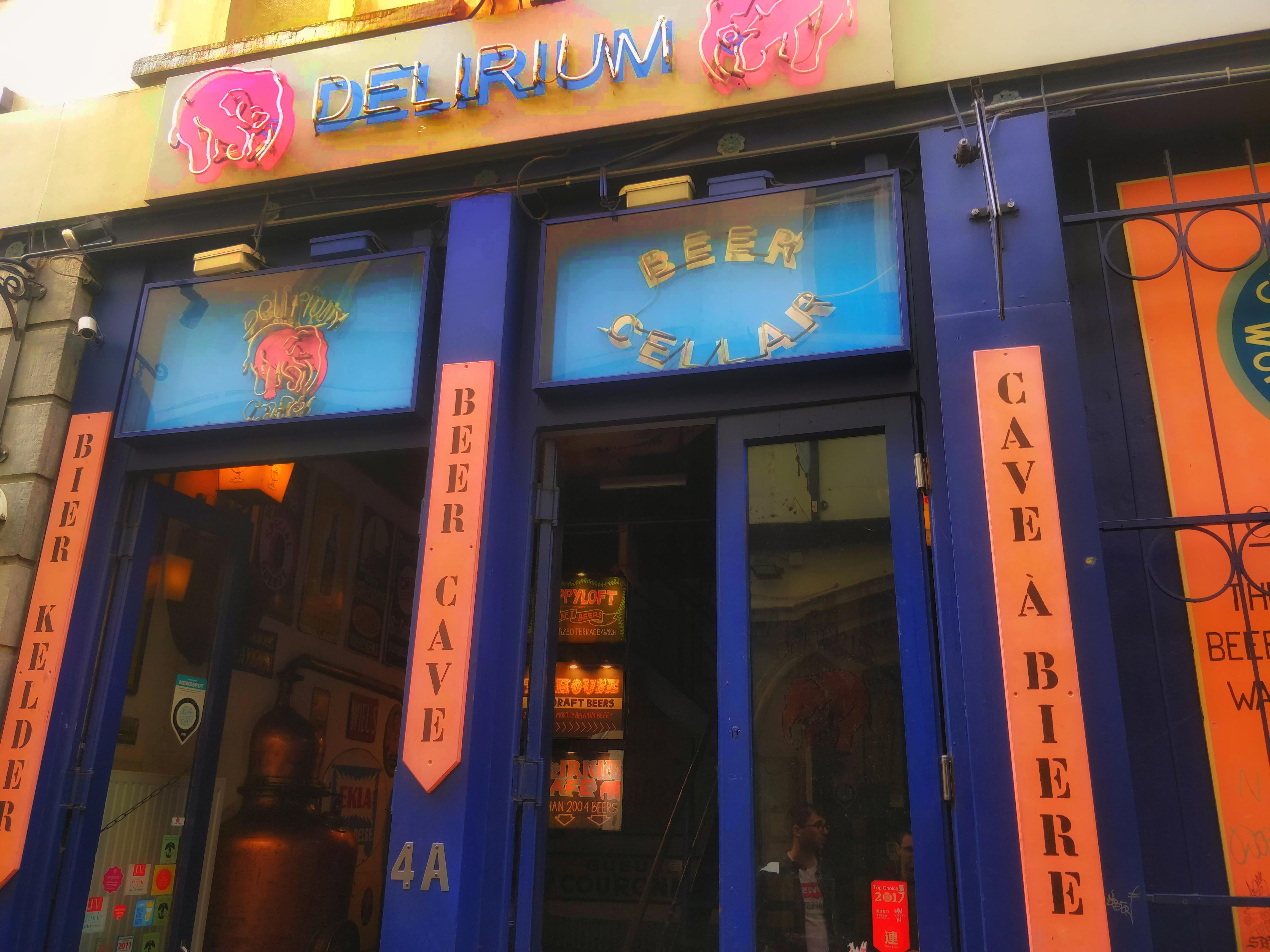 A világhírű Delirium Pub