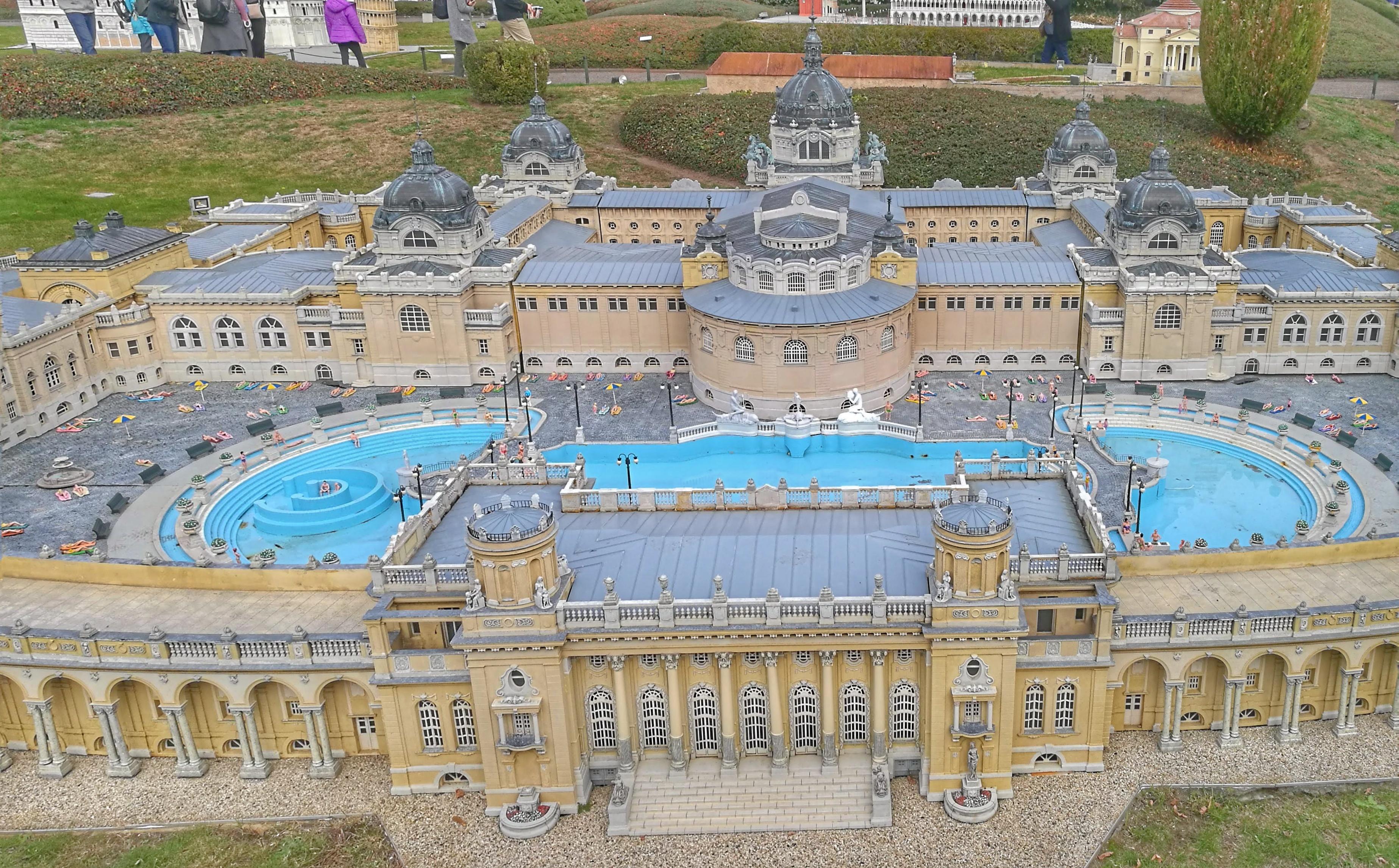 Magyarország képviseletében: a Széchenyi fürdő