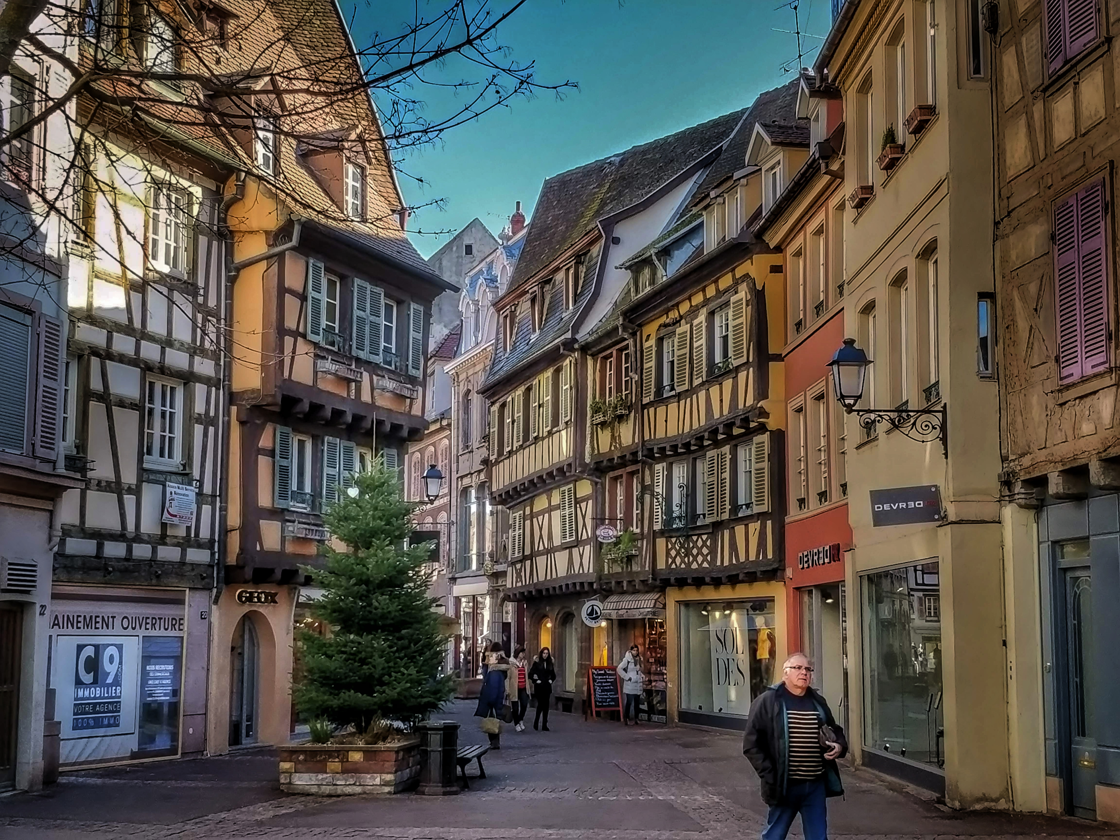 Colmar belvárosa