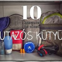 10+1 kötelező utazós kellék 1000 forint alatt!