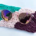 Horgolt szemüvegtok leírással, hogy felkészülj a napsütésre!