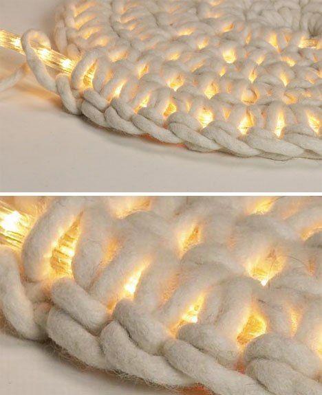 világító szőnyeg