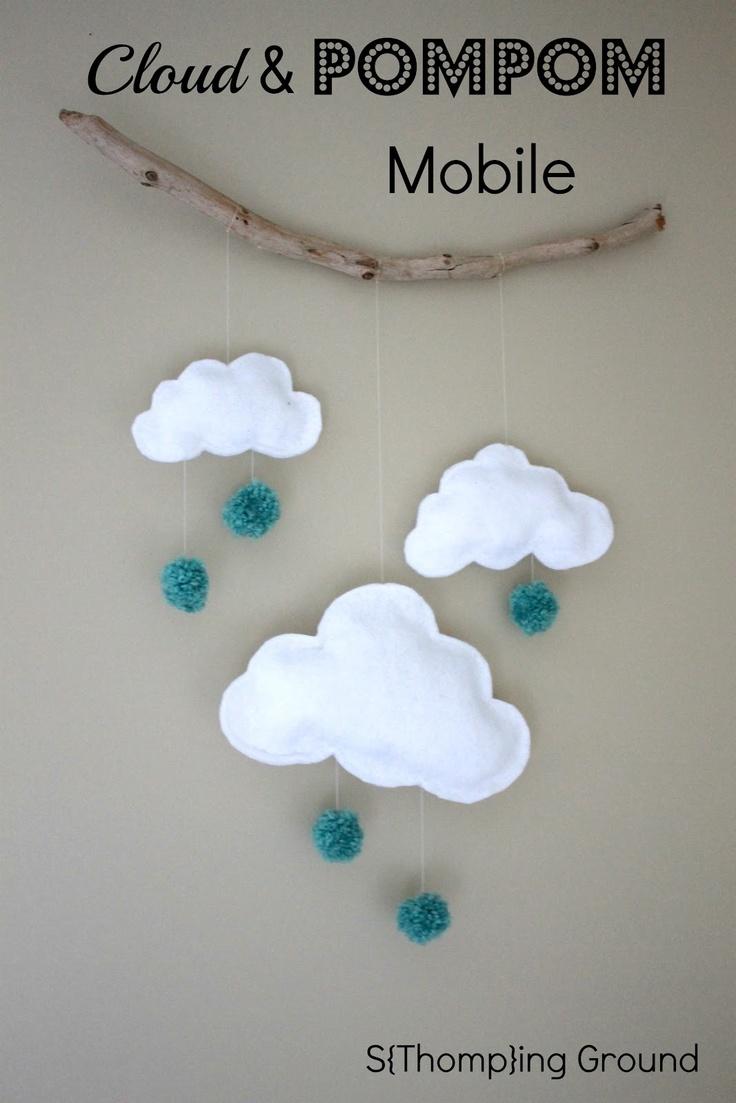 felhős dekor