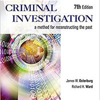 __PDF__ Criminal Investigation: A Method For Reconstructing The Past. revisan Colegio career imaging Polakow
