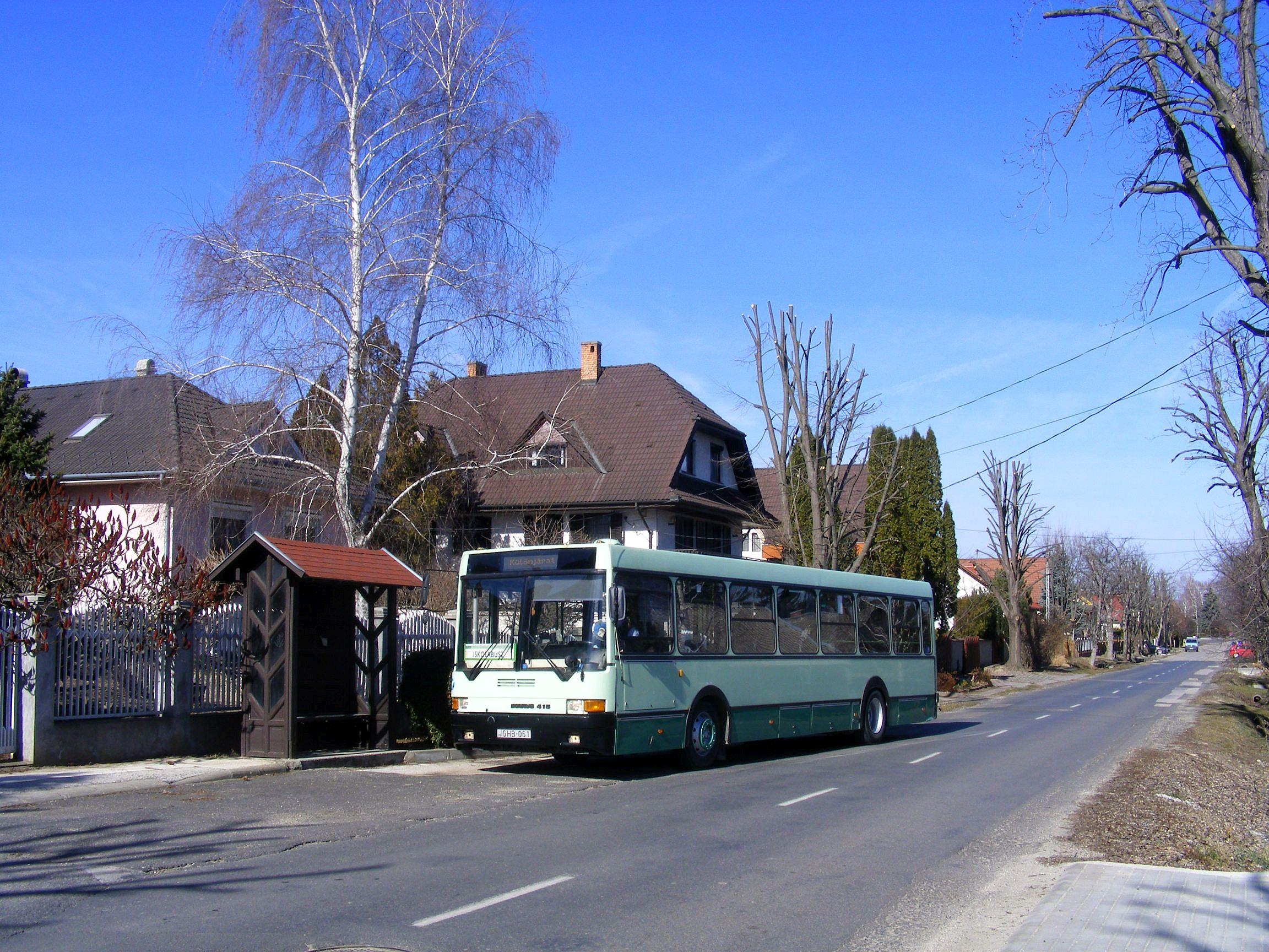 Siófok, Kenyérgyár volt buszmegálló