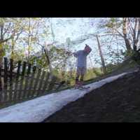 Telemark + hófoltsízés, az igazi síőrültség! :)