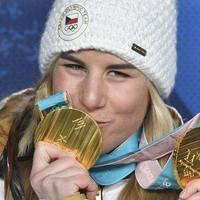 Ester Ledecká a snowboard és az alpesi sí olimpiai bajnoka!