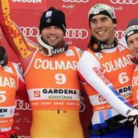 Szerencsés kanadai lesikló győzelem Val Gardenán